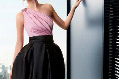 Vestidos cortos para ir a una fiesta, Rosa Clará 2013