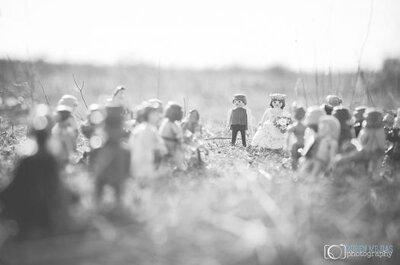 Il matrimonio ai tempi degli omini Playmobil