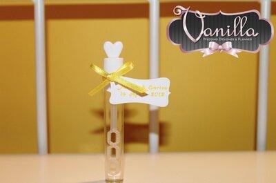 Inspiración: regala románticas burbujas en tu boda