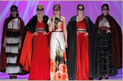 Matilde Cano, abiti da cerimonia 2014: un'andalusa rapsodia bohémienne