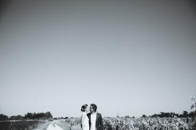 Plage, farniente, soleil, rires et champagne...Découvrez le magnifique mariage d'Annabel et Jon sur l'île de Ré