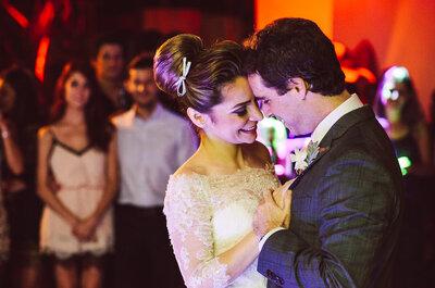 Daniela & Giordano: Casamento clássico super romântico com noiva grávida LINDA!