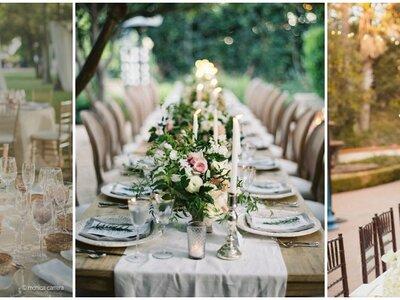 Tendencias del 2016 para decorar las mesas del banquete de tu matrimonio: ¡45 fabulosas opciones!