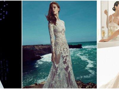 Hinreißende Brautkleider mit transparenten Elementen 2017 – Mit reizvollen Einblicken