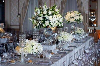 Cómo decorar tu boda en tonos plata: no te equivoques, te contamos las 5 opciones más elegantes