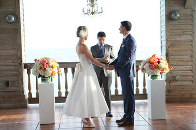 Real Wedding: Una boda elegante en el muelle