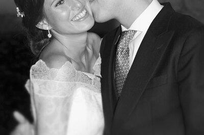 Todo en armonía: la boda de Patricia y Borja en el Monasterio de Lupiana