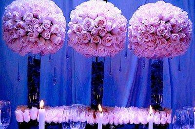 Mesas con detalles para tu boda