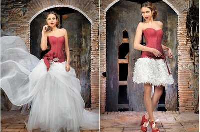 El vestido de la semana: una novia atrevida de Jordi Dalmau