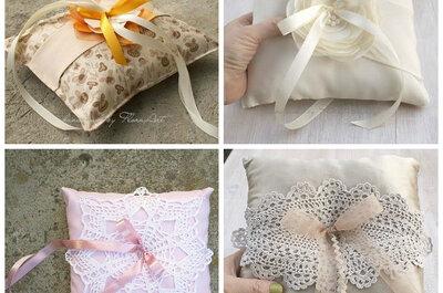 Pomysł tygodnia: ręcznie robione poduszeczki pod obrączki