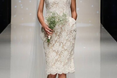 Vestidos de novia 2014 en color blanco de Elizabeth Stuart