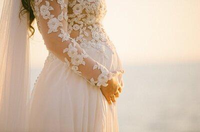 Spose col pancione: le ispirazioni più belle dalle mamme italiane più seguite su Instagram
