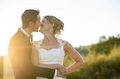 Marine + Colin :  une demande à Lisbonne et un joli mariage en Auvergne