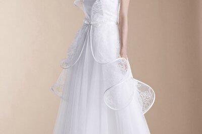 Suzanne Ermann : des robes de mariée uniques, sobres et fantaisistes
