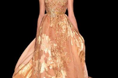 Scegli l'oro per il tuo matrimonio elegante e mai banale