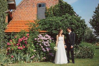 Le mariage franco-irlandais DIY au ton vintage d'Elise et Michael