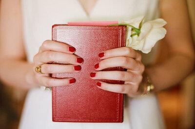 Atrévete con uñas de colores en tu boda