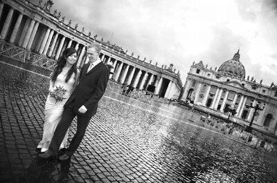 Rome Weddings & Inspiration: Divine Old World Romance