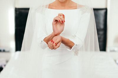 Un look de novia femenino y seductor: claves para conseguirlo