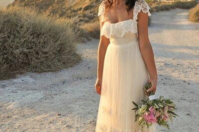 Stop het zinken in het zand! De perfecte strand bruidsschoenen.