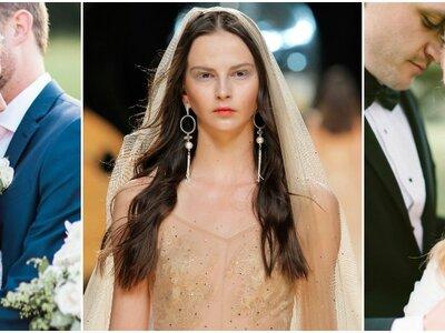 Peinados de novia con pelo suelto 2017. ¡Apuesta por lo natural y triunfa!