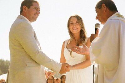 ¿Cómo organizar un matrimonio minimalista? ¡Cinco claves que no pueden faltar!
