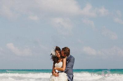 Moda, playa y diversión en la Real Wedding de Mónica y Sergio en la Riviera Maya