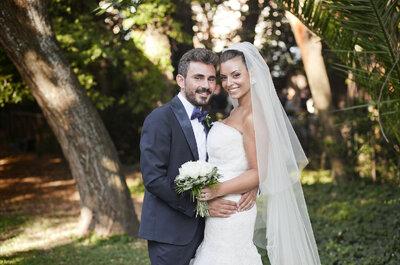 Simona y Mario, boda al aire libre