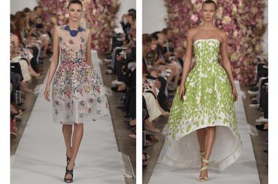 Luce perfecta y con un estilo sin igual: Enamórate de los vestidos de fiesta primavera 2015 de Oscar de la Renta
