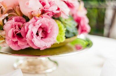 Thalissa e Giovani: linda decoração provençal em casamento ao ar livre