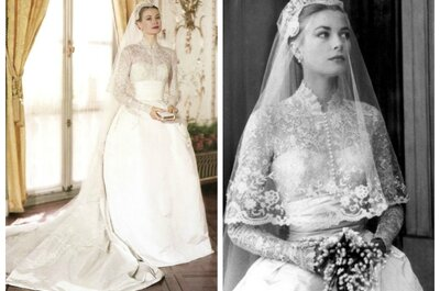 Famous bridal gowns of the last 60 years. Which is your favourite?
