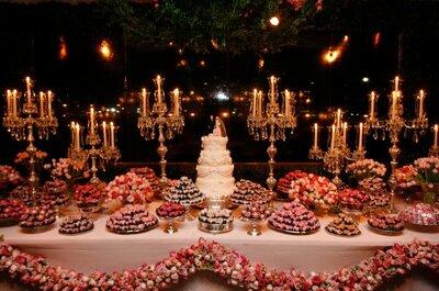 Velas na decoração do seu casamento