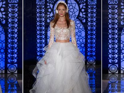 Robes de mariée Reem Acra automne-hiver 2016 : une collection pleine de grâce et de magie