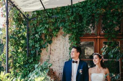 Herbstliche Dekoration für die Hochzeit – Warme Farbtöne sorgen für ein kuscheliges Flair