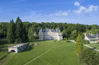 Château, parc somptueux et hôtel de charme : le lieu de réception parfait existe !