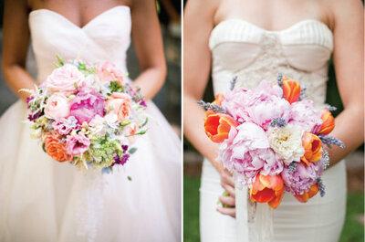 Bruidsboeketten: de trends voor 2013!