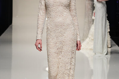 The 30 most beautiful wedding dresses shown at White Gallery 2014