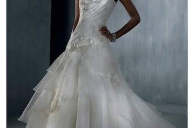 Alfred Angelo 2012 provides styles for all brides
