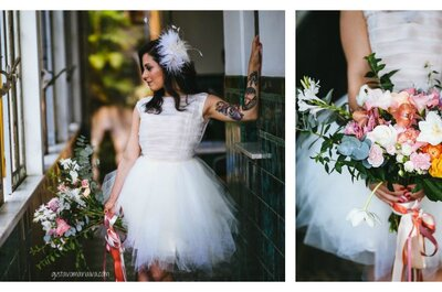 Comment choisir sa robe de mariée quand on est tatouée