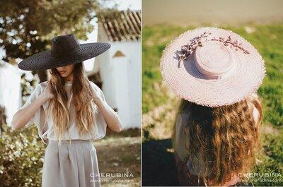 Chapéus de abas largas e a moda XXL: a tendência que está a conquistar as convidadas