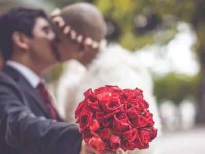 ¡La inolvidable boda de Daniela y Mauricio! Entre tonos y caricaturas, amor y convicción
