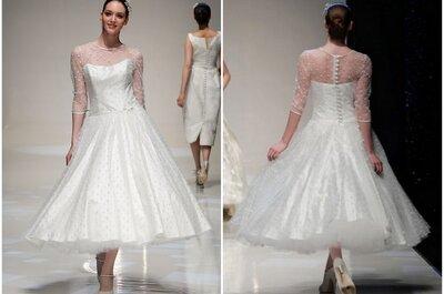 El vestido de la semana: una novia de Londres