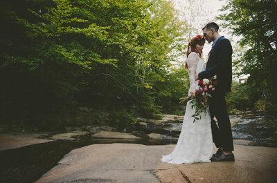 Amor a escondidas: la mezcla perfecta entre la primavera y una boda