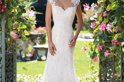 Fall for Sincerity Bridal wedding dresses and their youthful elegance!