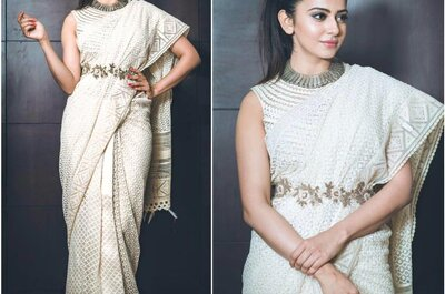 How to choose a stunning high-neck blouse for the traditional bride!