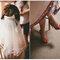 Un vestido de novia con tules de colores y mucho volumen. ¿Habías visto algo igual?