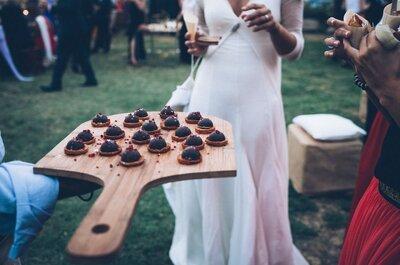TOP 5 aperitivos que não podem faltar no seu casamento