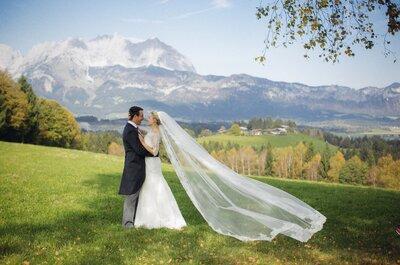 Valentyna und Florian's atemberaubende Hochzeit in Kitzbühel