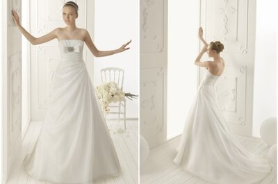Il vestito della settimana: un romantico Aire Vintage 2013