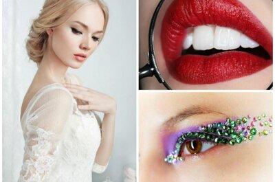 Braut-Make up für eine Winterhochzeit
